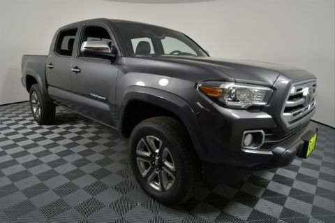 New 2018 Toyota Tacoma Limited V6