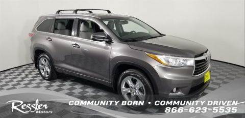 Certified Pre-Owned 2015 Toyota Highlander Limited V6