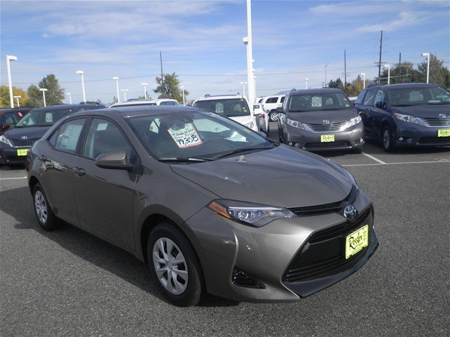 New 2018 Toyota Corolla Le Eco Sedan In Bozeman T80071