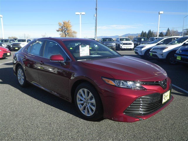 New 2018 Toyota Camry Le Sedan In Bozeman T80125 Toyota