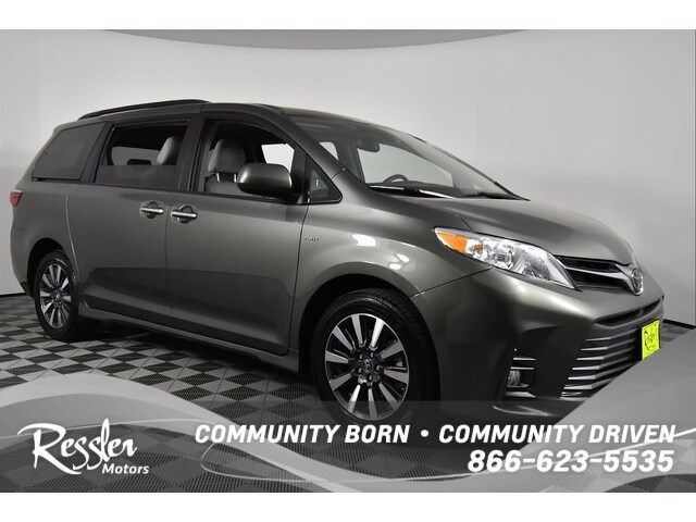 Certified Pre Owned 2018 Toyota Sienna Xle