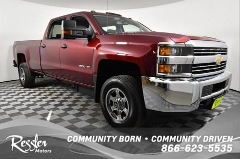 Pre-Owned 2016 Chevrolet Silverado 2500HD WT