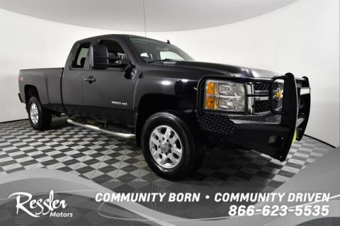 Pre-Owned 2012 Chevrolet Silverado 3500HD LTZ